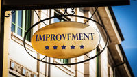 Street Sign to Improvement