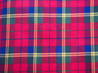 red green blue and yellow tartan texture background