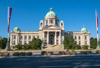 Serbia National Assembly, Belgrade, Serbia.