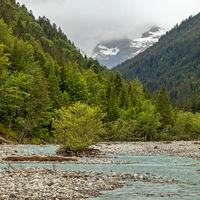 Am Hornbach in Tirol, Oesterreich