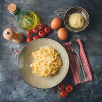 Cheese and Egg Pasta