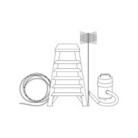 Chimney Sweeper Tools Icons