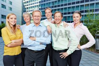 Karriere im Business Team