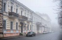 Primorsky Boulevard in Odessa, Ukraine