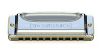 Diatonic harmonica 3D