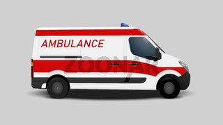 ambulance car transportation aid