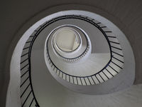 Spiral Staircase in the German Museum for Masterpieces of Natural Science and Engineering - Munich
