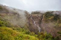 Barron Falls on a Misty Day
