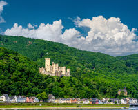 Stolzenfels Castle at Rhine Valley near Koblenz, Germany.