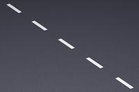 Asphalt street with road markings