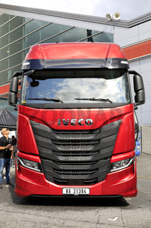 New Iveco S-Way 480 Truck on Display