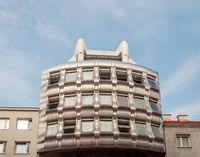 Fragment of modern building in Vienna