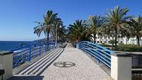 Promenade in Santa Cruz, Madeira