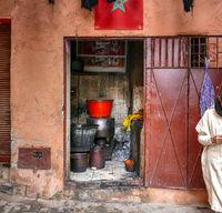 Werkstatt in Marrakesch