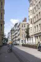 Einstein St. in Magdeburg