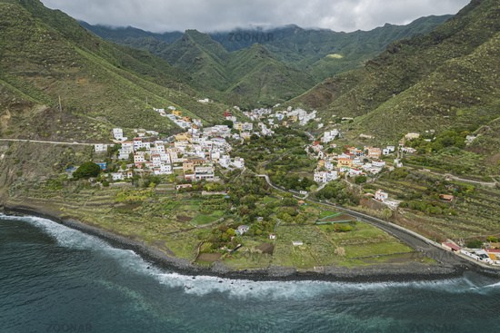 Igueste De San Andres Aerial