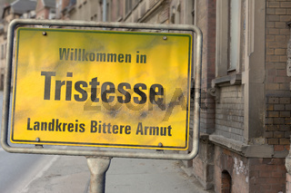 Willkommen in Tristesse - Landkreis Bittere Armut