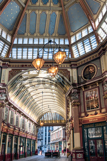View of Leadenhall Market