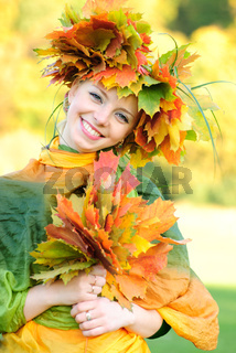 Aurumnal girl