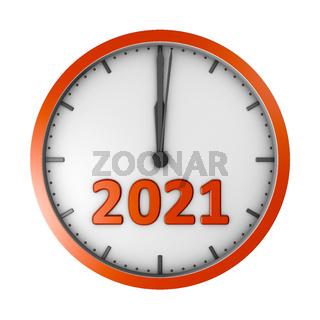 Round clock 2020