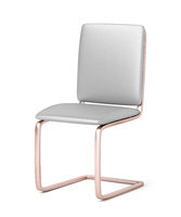 Gray dining chair