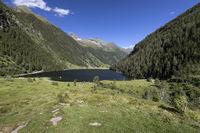 Der Riesachsee in der Steiermark, Österreich, im Sommer