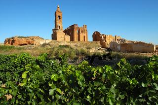 Belchite, Spanien