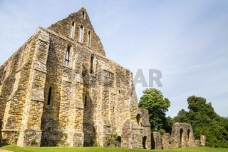 Battle abbey ruins in UNited Kingdom