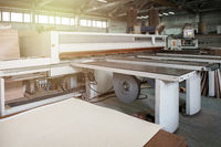 Wooden furniture production.