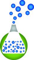 Laborglas, Labor, Chemie, Logo, Icon