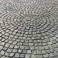 pavement of stone pavers as a background