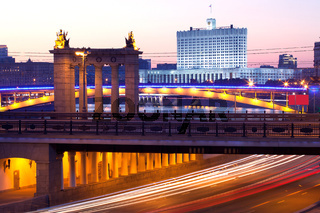 Russia - 05.23.2014, Moscow evening landscape