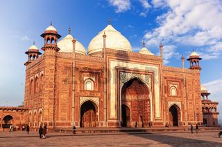 Kau Ban Mosque in Taj Mahal, India, Agra