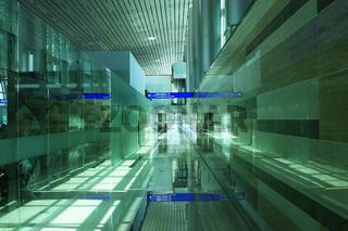 Noi Bai International Airport in Hanoi.