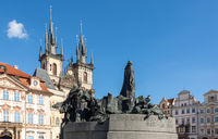 Jan Hus Memorial in Prague