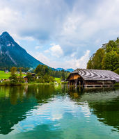 Königssee - the cleanest lake in Germany