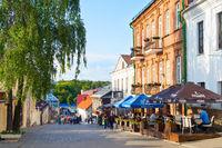 People Old Town street Minsk