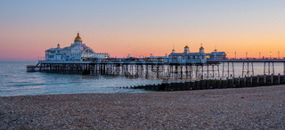 Eastbourne Pier at the South Coast of England