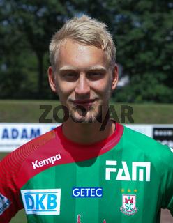 deutscher Handballer Matthias Musche vom SC Magdeburg DHB DKB Handball-Bundesliga-Saison 2014/15