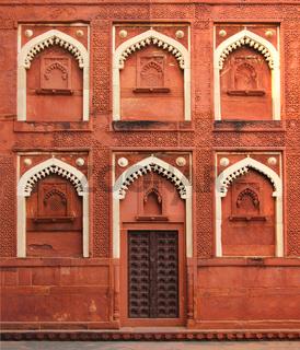 building fragment with door in India