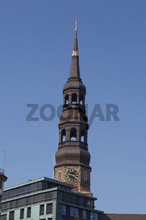 Hamburg - St. Katharinen Kirche am Zollkanal