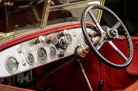 Detail eines alten Automobile