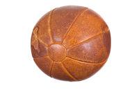very old medicine ball