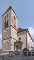 Pfarrkirche St. Mauritius Appenzell, Schweiz