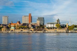 Die Landungsbruecken in Hamburg