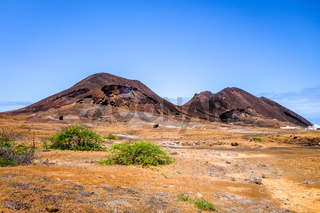 Volcano on Sao Vicente Island, Cape Verde