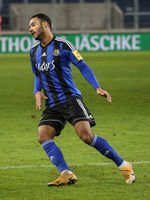 deutscher Fußballer Jayson Breitenbach 1.FC Saarbrücken DFB 3.Liga Saison 2020-21