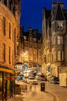 Royal Mile Edinburgh Sunset