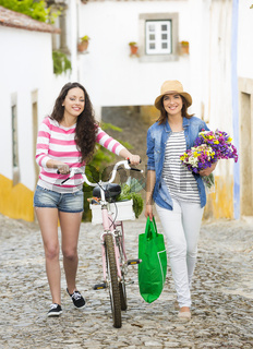 Female tourists