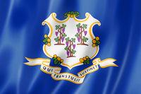 Connecticut flag, USA
